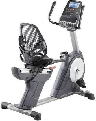 PFEX13813 4.0 RT iFit Enabled Recumbent Bike with 30 Workout Apps  20 Resistance Levels  iPod Music Port  CoolAire Workout Fan  and Grip Pulse EKG Heart Rate