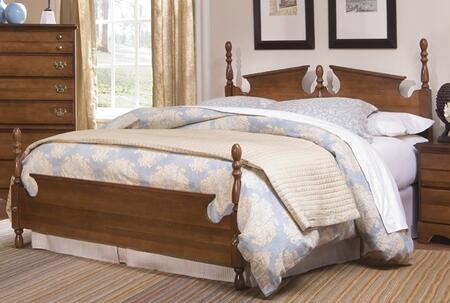 Common Sense 187850-982500-79091 63 inch  Queen Sized Bed with 5 Legged Metal Frame and Panel Headboard in Traditional