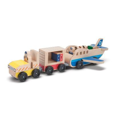 4387 Whittle World Plane and Luggage Carrier