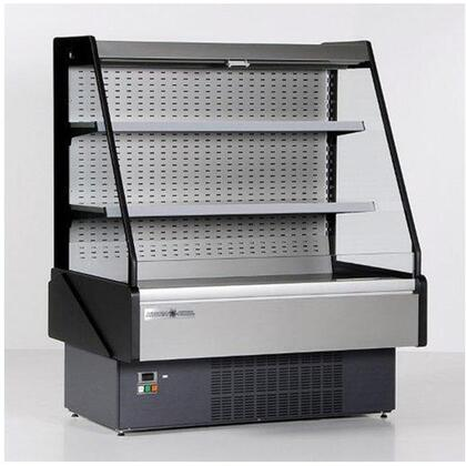KGLOF60R Grab-N-Go Low Profile Case with 5141 Cooling BTU  LED Lighting  in