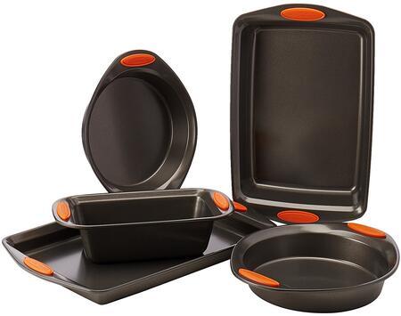 55673 5-Piece Oven Lovin Bakeware Set  Gray
