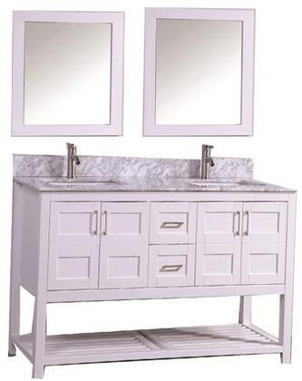 -2172W Norway 72 Single Sink Bathroom Vanity Set