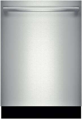 "Bosch 500 Series 24"" Tall Tub Built-In Dishwasher with Stainless-Steel Tub Stainless Steel SHX65T55UC"