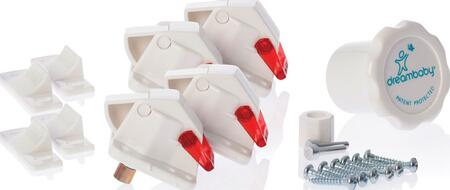L150 The Mag Lock Magnetic Cabinet Locking - 4 Locks and 1
