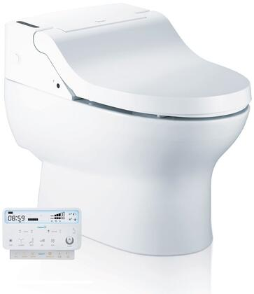 IB-835 28 inch  Luxury Toilet with Bidet Functions  Adjustable Heated Seat  Auto Flush  Intelligent Body Sensor and Wireless Remote with LCD
