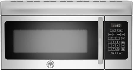 Bertazzoni KOTR30X 30 Inch Wide 1.6 Cu. Ft. 1000W Over-the-Range Microwave, Stainless Steel
