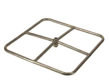 FRSSQ24  24 inch  Square Stainless Steel Fire
