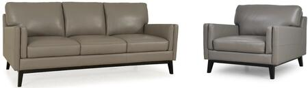 Osman Collection 35203MS1309SC 2-Piece Living Room Set with Sofa and Chair in
