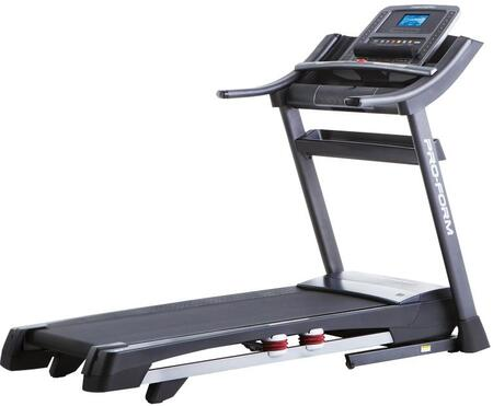 PFTL10113 ZT10 Treadmill with SpaceSaver Design  ProShox Cushioning  32 Workout Apps  Grip Pulse EKG Heart Rate Monitor  and CoolAire Workout