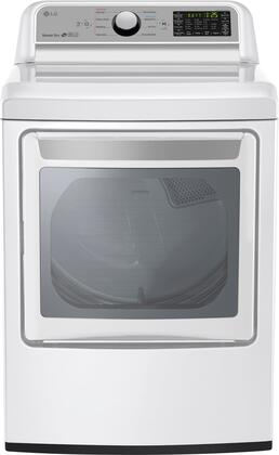 LG DLG7201WE White Super Capacity Gas Dryer with 9 drying programs