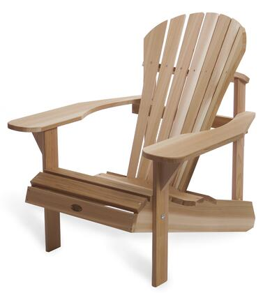 "AT20 21"" Athena Adirondack Chair with Wide Seat  Fully Curved Back and Oversized Arm"