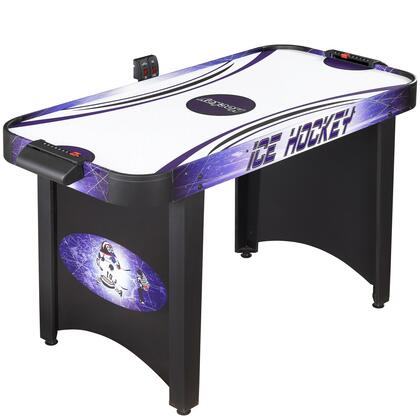 NG1015H Carmelli Hat Trick 4' Air Hockey Table Scratch Resistance Playing Surface and Manual/Electronic Scoring