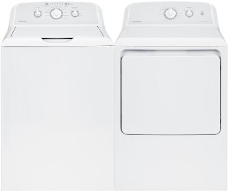 2 Piece Laundry Pair With HTW240ASKWS 27 inch  Top Load Washer and HTX24EASKWS 27 inch  Electric Dryer In