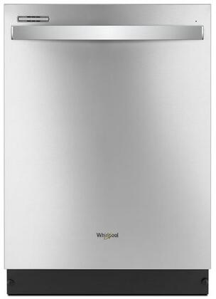 Whirlpool WDT710PAHZ 24 Inch Built In Dishwasher with 13 Place Settings, Soil Sensor, Heated Dry Option, 1-Hour Wash Cycle