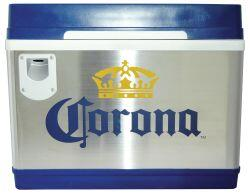 CORC24 Corona Cruiser Thermoelectric Cooler   With a Built in Bottle Opener  Beverage Holders and Lime Storage