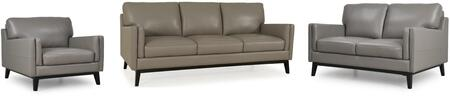 Osman Collection 35203MS1309SLC 3-Piece Living Room Set with Sofa  Loveseat and Chair in