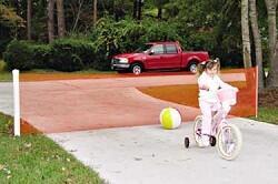 Kid Kusion Kid Safe Retractable Driveway Guard - 25'