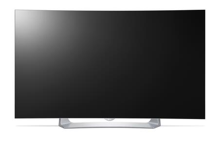 "LG 55"" Class (55.3"" Diag.) OLED Curved 1080p Smart 3D HDTV Black 55EG9100"