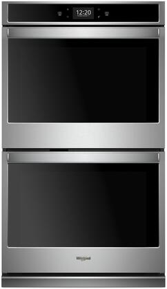 Whirlpool WOD77EC0HS 30 Stainless Convection Double Electric Wall Oven