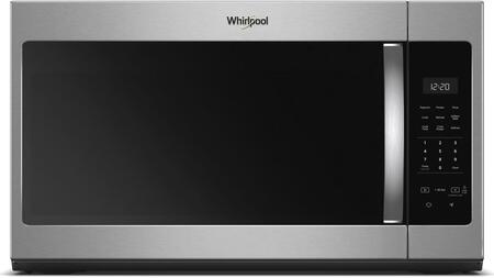 Whirlpool WMH31017HZ 30 Inch Over the Range 1.7 cu. ft. Capacity Microwave Oven