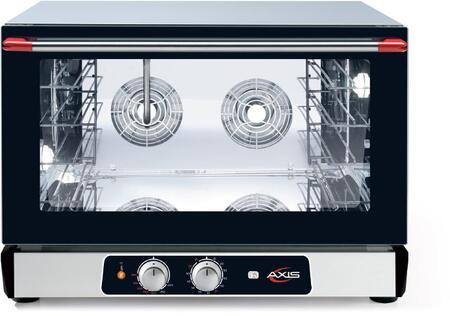 AX824RH Full Size Convection Oven with Humidity Inverter Sytem Manual Controls  4 Shelves Full Size Pans  Up to 510 Degrees F  0-120 Minute Timer  in
