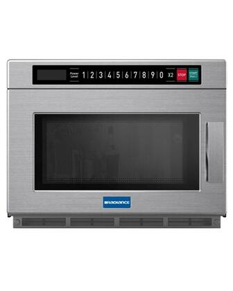 TMW1200HD 1200W Heavy Duty Microwave Oven with 60 Min. Cooking Time  0.9 cu. ft. Capacity  14 Touch Control Pads  Stainless Steel Construction  Heat Resistant