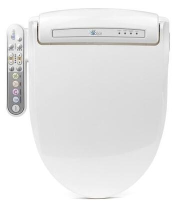 BB-800WR Prestige Series Advanced Round Bidet Toilet Seat with Auto Smart Power Saving  Massage Cleaning  Warm Air Dry and Self Clean in