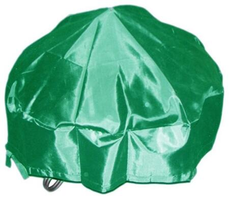 DM-RC-RF-G 40 inch  Round Fire Pit Cover with PVC Coated Oxford Fabric  Fire Pit Cover and Draw String in
