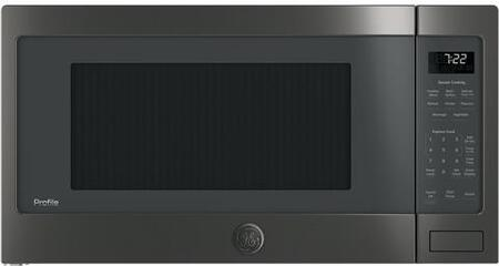 GE PES7227BLTS 25 Inch 2.2 cu.ft. Capacity Countertop Microwave with 1100 Cooking Watts