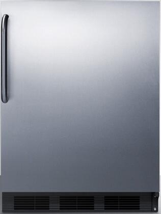 FF7BBISSTBADA 24 inch  Commercially Approved & ADA Compliant Compact Refrigerator with 5.5 cu. ft. Capacity  Auto Defrost  Interior Light and Hidden Evaporator  in