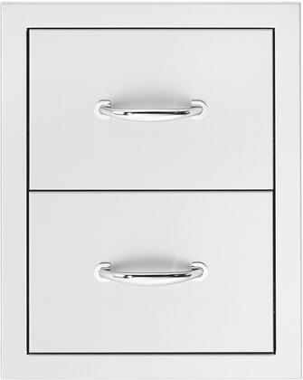 SSDR2 Double Drawer  in Stainless