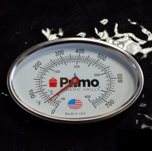 PR200012 Thermometer without Bezel and Sleeve for Oval JR 200  LG 300  and