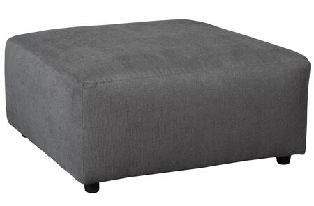 """6490208 Jayceon 40"""""""" Fabric Oversized Accent Ottoman with Rounded Edges and Small Round Feet in"""" 688553"""