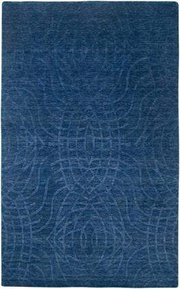 Uptup2439id000912 Uptown Up2439-9 X 12 Hand-loomed New Zealand Wool Blend Rug In Indigo Blue  Rectangle