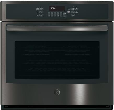 JT5000BLTS 30 Built-In Single Wall Oven with 5 cu. ft. Capacity  3 Self-Clean Heavy Duty Oven Racks  Self Clean  Steam Clean  and Convection  in