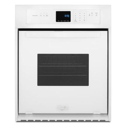 WHIRLPOOL WOS51ES4EW 3.1 Cu. Ft. Single Wall Oven with High-Heat Self-Cleaning System