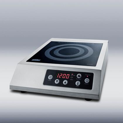 "SINCCOM1 13"" Smoothtop Portable Electric Induction Cooktop With 1 Cooking Zone Multiple Power Levels Automatic Pan Recognition Timer Ceran Smooth Surface"