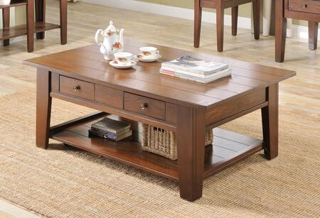 Ezra_Collection_5952-CT_Coffee_Table_with_2_Drawers__Bottom_Shelf__Solid_Hardwood_Construction__Oak_Veneer_and_Poplar_Material_in_Cherry