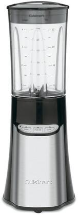 CPB-300 Compact Portable Blending/Chopping System with BPA Free Tritan 32 Oz. Blender Jar  8 Oz. Chopping Cup  Four 16 Oz. Travel Cups  Stainless Steel Blades