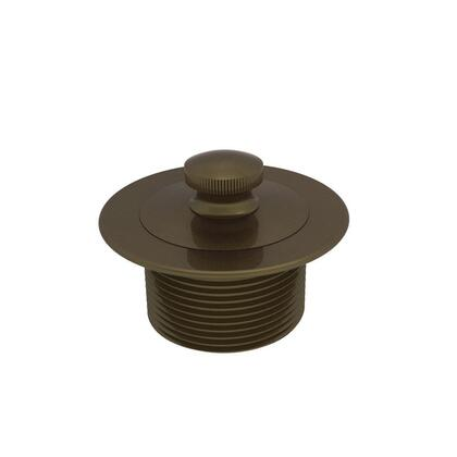 270/06 2-13/16 in. Lift and Turn Bath Plug in Antique