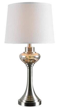 Trumpet 32880BS Table Lamp with 4-Way Socket Switch  14