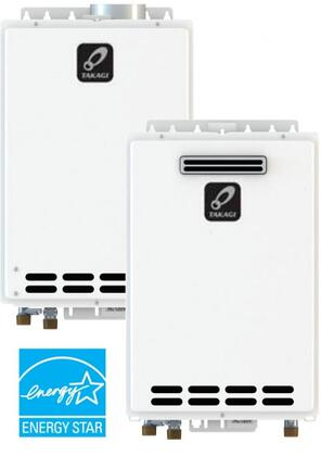 T-KJr2-OS-LP 14 inch  Liquid Propane Tankless Water Heater With Max 140 000 BTU/h  15-150 PSI  Overheat Cutoff Fuse  Internal Freeze-Protection System  Manual Reset