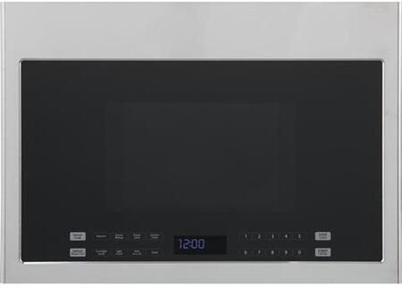 Haier HMV1472BHS 24 Over-the-Range Microwave with 1.3 cu. ft. Capacity 300 CFM Sensor Cooking Hidden Vent 10 Power Levels and 13.6 Turntable in Stainless