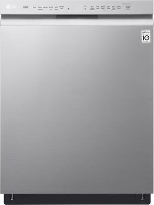 "LDF5545ST 24"""" Energy Star Rated Built-In Dishwasher with 15 Place Settings  QuadWash  9 Wash Cycles  8 Wash Options  and Stainless Steel Tub: Stainless"" 665273"