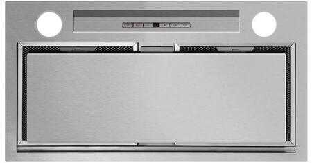 Fisher Paykel HP24ILTX1 24 Perimeter Range Hood Insert with 600 CFM Internal Blower, in Brushed Stainless Steel