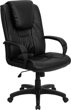 GO-5301BSPEC-CH-BK-LEA-GG High Back Black Leather Executive Office
