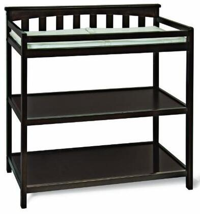 F01116.07 Flat Top Changing Table: