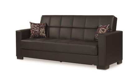 Armada Collection ARMADA SOFA #15 BLACK PU 11-181 88