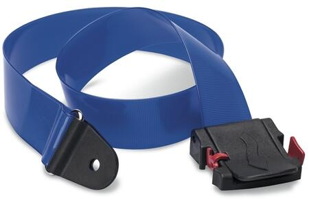 B003 Baby Changing Station Replacement Belt wth Cam Buckle  Nylon Coated in Royal