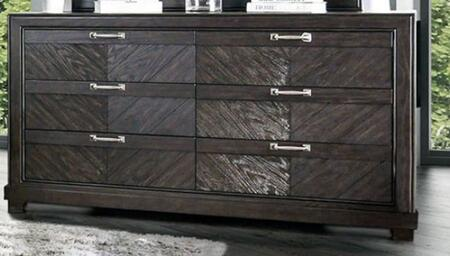 Argyros CM7315D Espresso Wood Dresser by Furniture of America